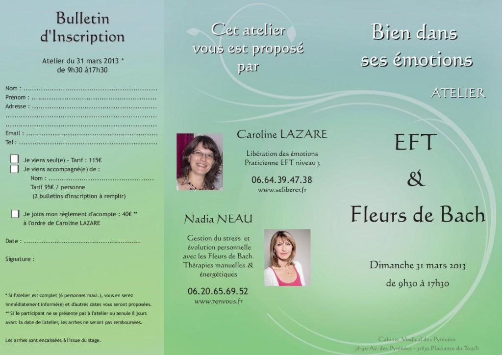 Atelier EFT Fleurs de Bach